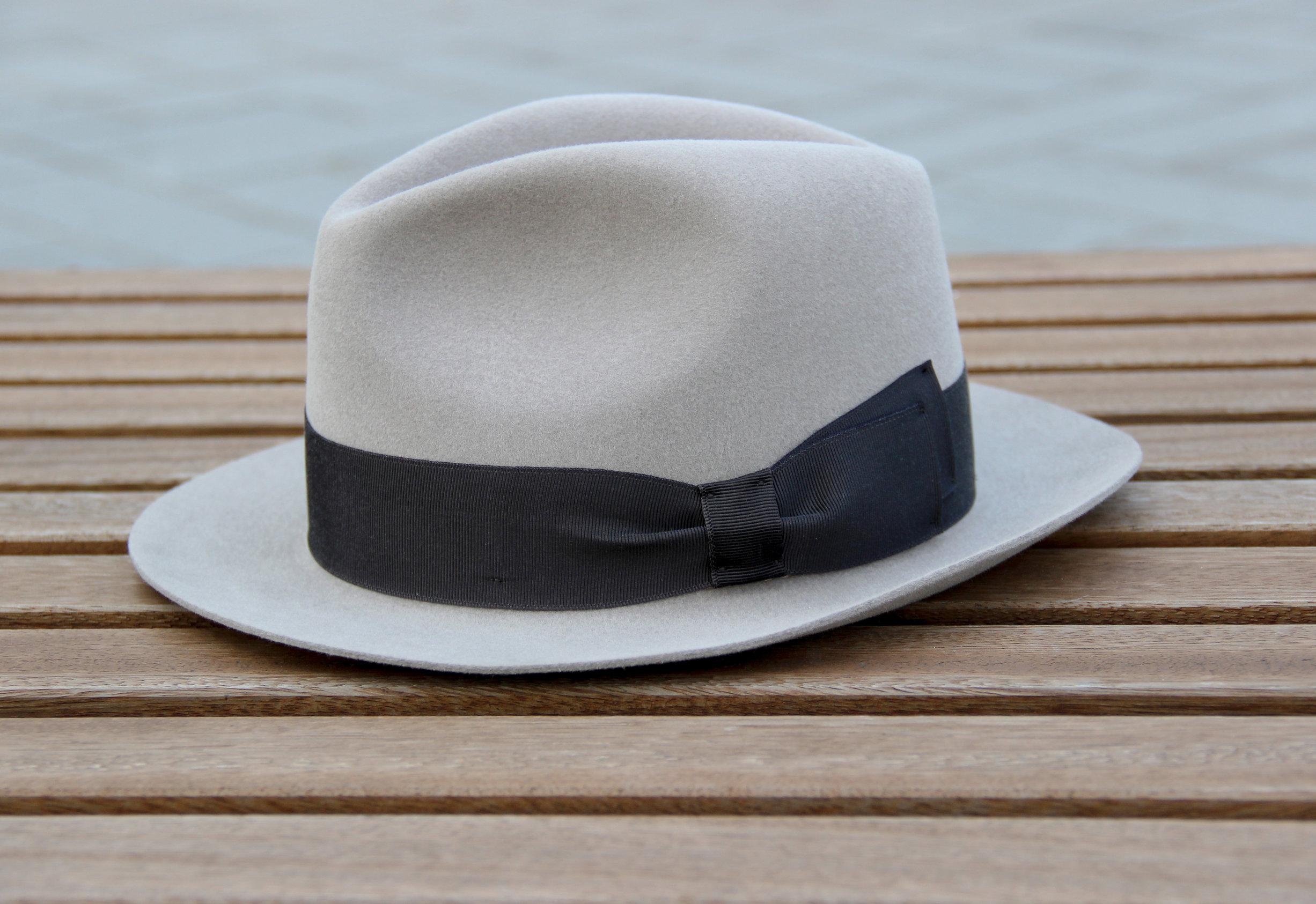 MAD MEN - Don Draper Style Stingy Brim Fedora Hat by LONG STORY SHORT