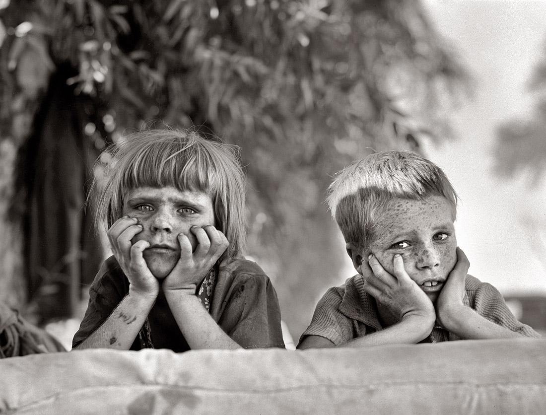 Dorothea Lange, Wielki Kryzys w Ameryce - The Dust Bowl by LONG STORY SHORT
