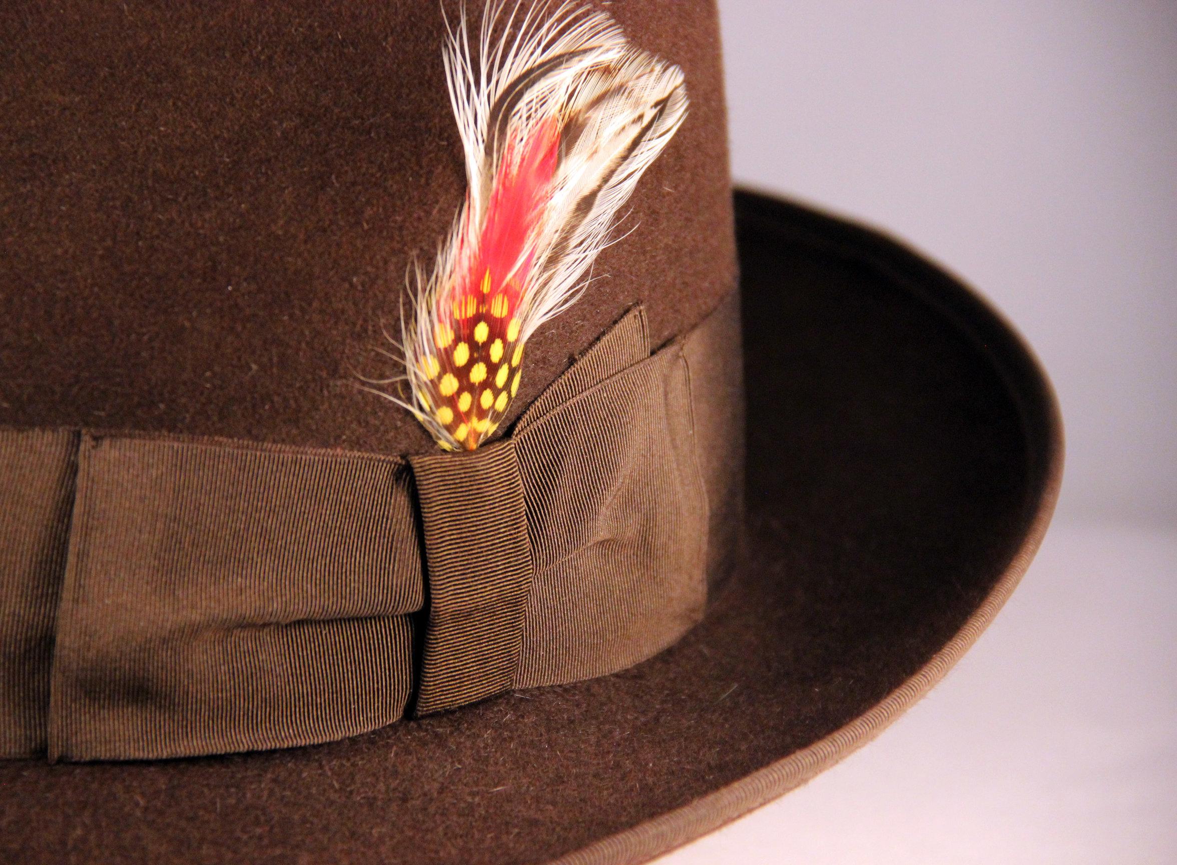 Hat Renovation - Vintage Cervino Fedora by LONG STORY SHORT