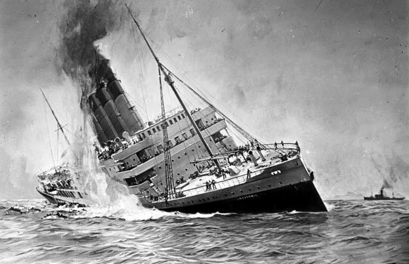 RMS Lusitania - Podróż w wielkim stylu by LONG STORY SHORT