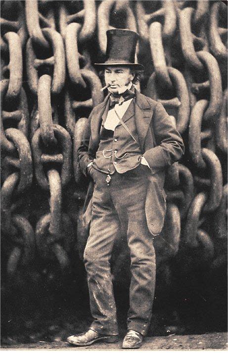 Isambard Kingdom Brunel - Podróż w wielkim stylu by LONG STORY SHORT