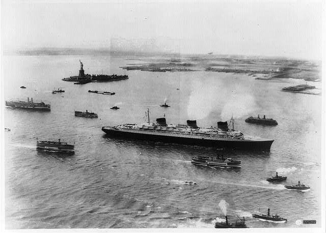 SS Normandie - Podróż w wielkim stylu by LONG STORY SHORT