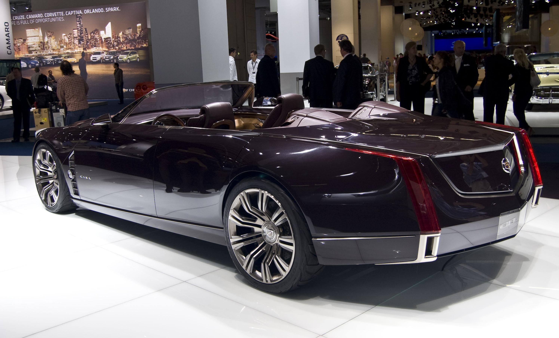 Czterodrzwiowy Cadillac Ciel Concept, rok 2011