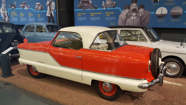 Nash Metropolitan - z wizytą w British Motor Museum by LONG STORY SHORT