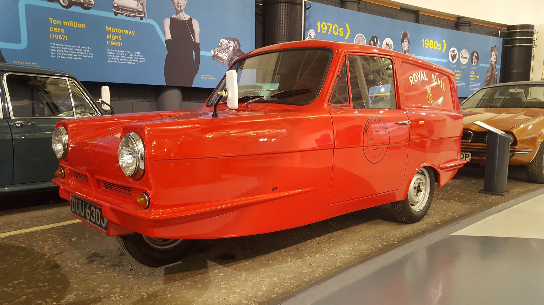Reliant Robin - z wizytą w British Motor Museum by LONG STORY SHORT