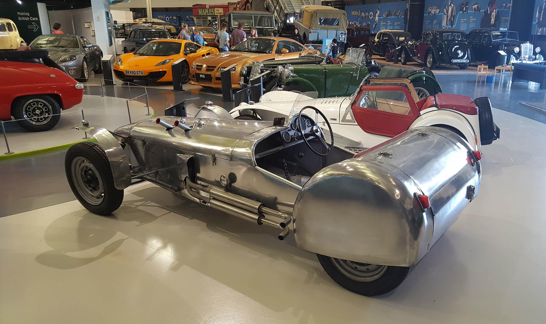 Lotus Mark IV - z wizytą w British Motor Museum by LONG STORY SHORT