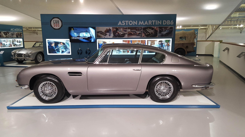 Aston Martin DB6 - z wizytą w British Motor Museum by LONG STORY SHORT