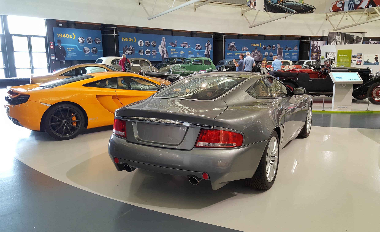 Aston Martin Vanquish - z wizytą w British Motor Museum by LONG STORY SHORT