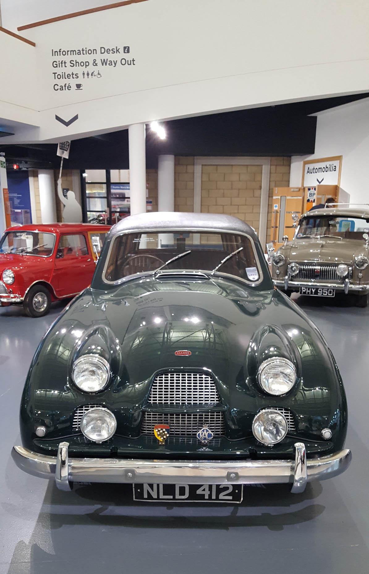 Allard P2 Safari Station Wagon - wizytą w British Motor Museum by LONG STORY SHORT