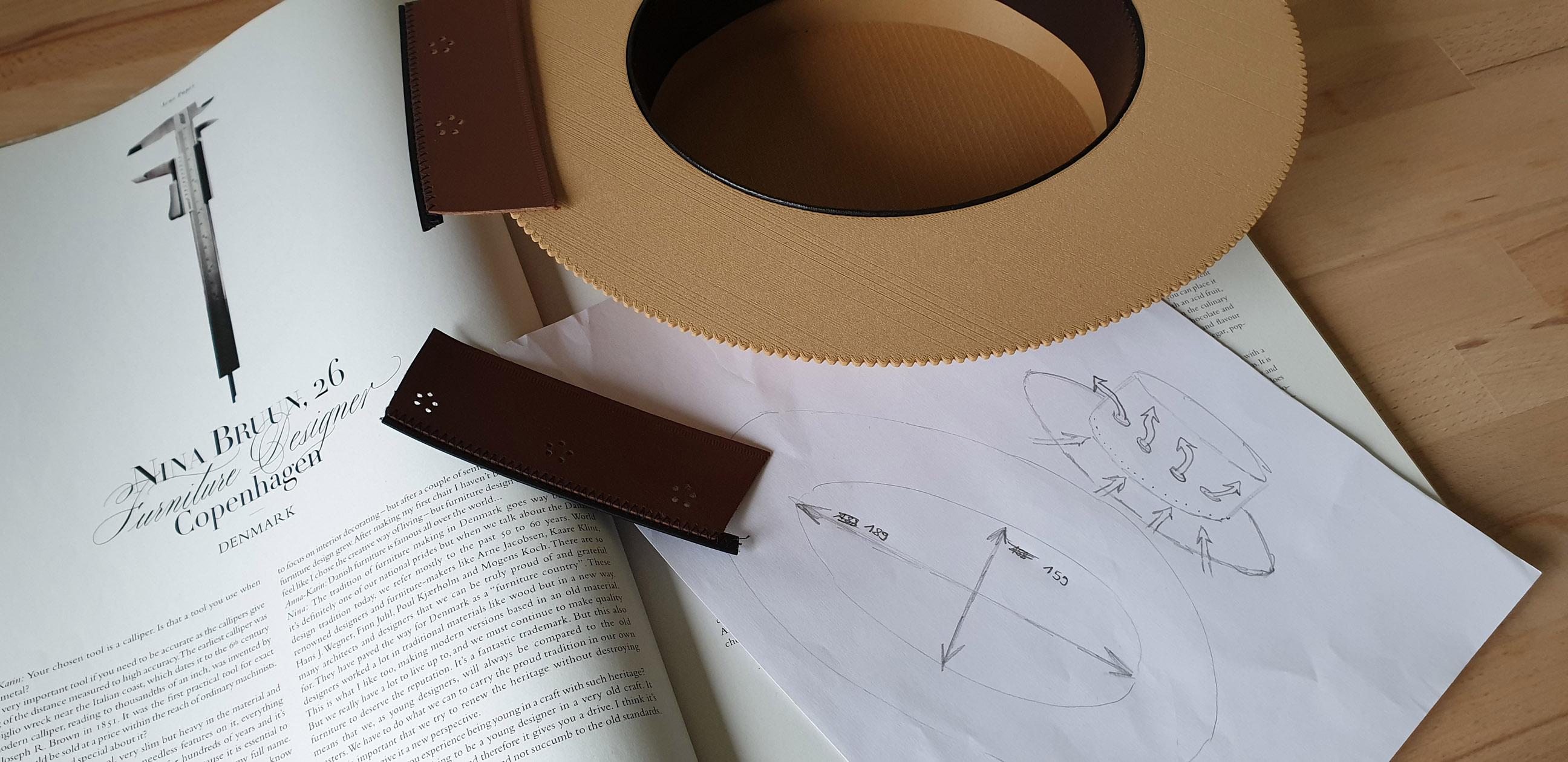 WORLD'S FIRST 3D PRINTED BOATER HAT - Kanotier z drukarki 3D by LONG STORY SHORT