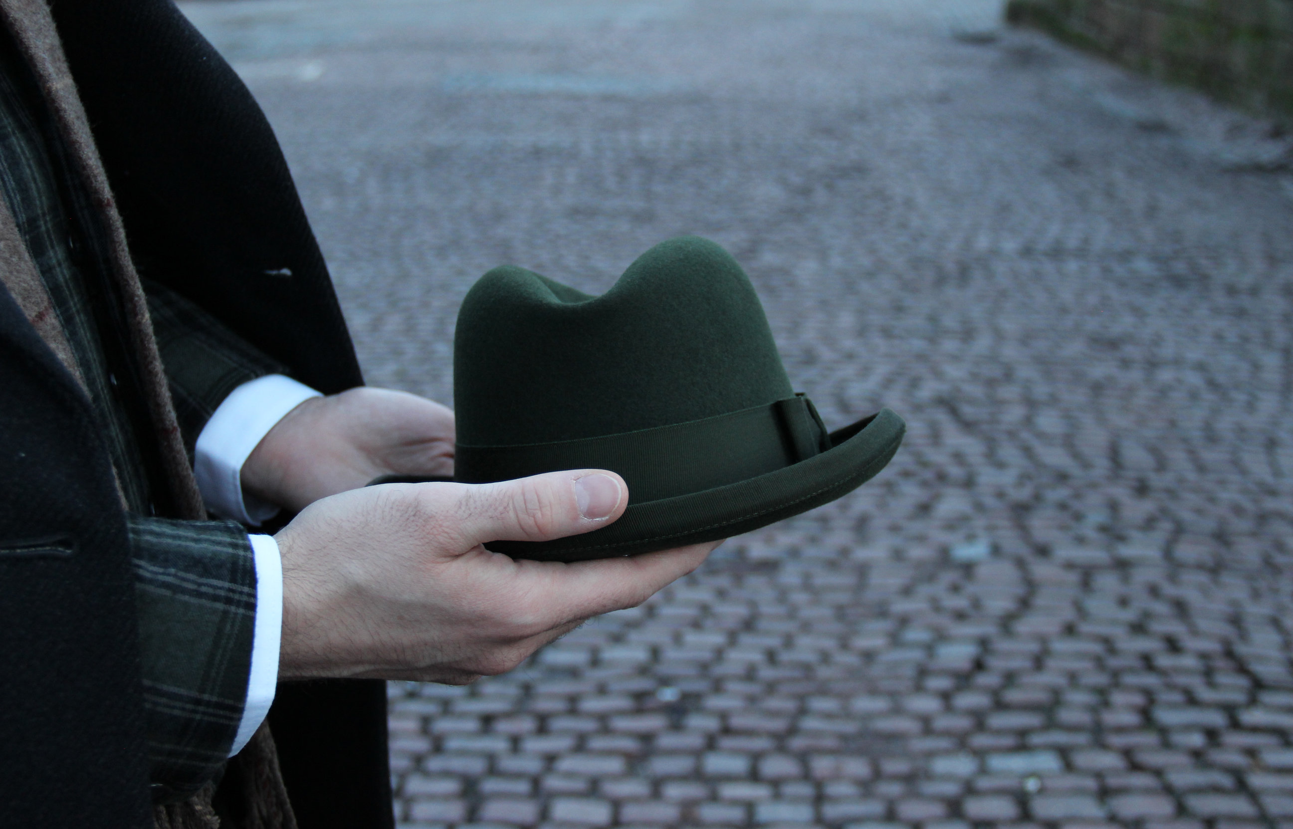 Kapelusz Homburg Christys' Hats