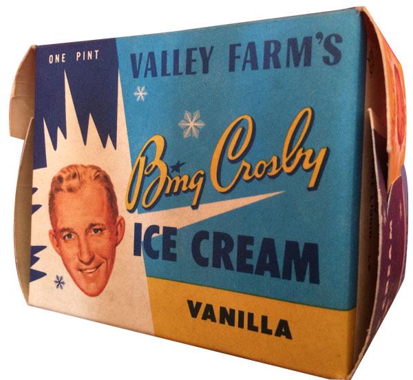 Bing Crosby, singer, vocal, piosenkarz, historia muzyki, radio, telewizja, white christmas, swing, jazz, amerykańskie standardy, legenda, Vintage Ads