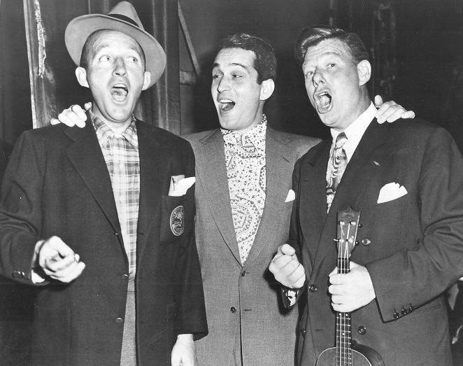 Bing Crosby, singer, vocal, piosenkarz, historia muzyki, radio, telewizja, white christmas, swing, jazz, amerykańskie standardy, legenda, Perry Como, Arthur Godfrey