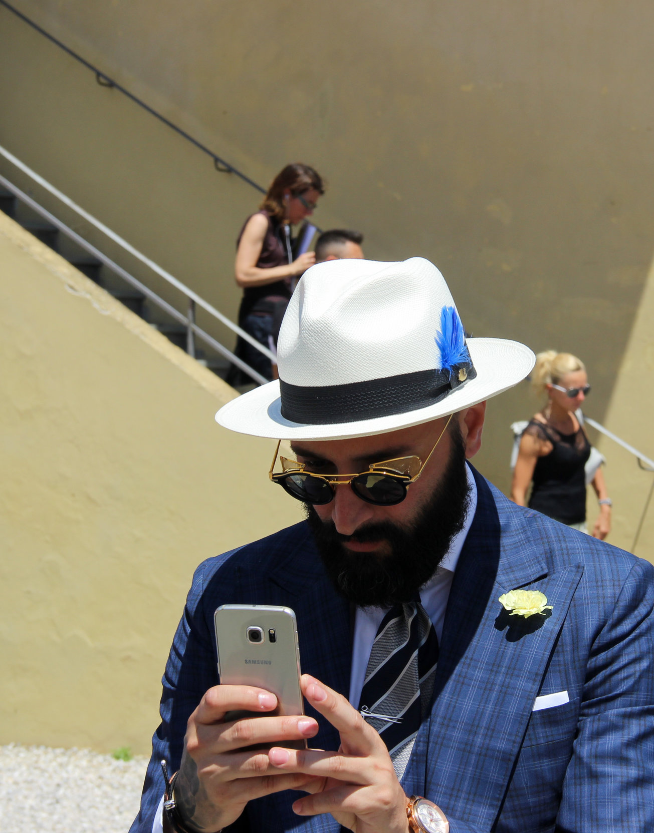 Pitti uomo 90 - Hats by LONG STORY SHORT
