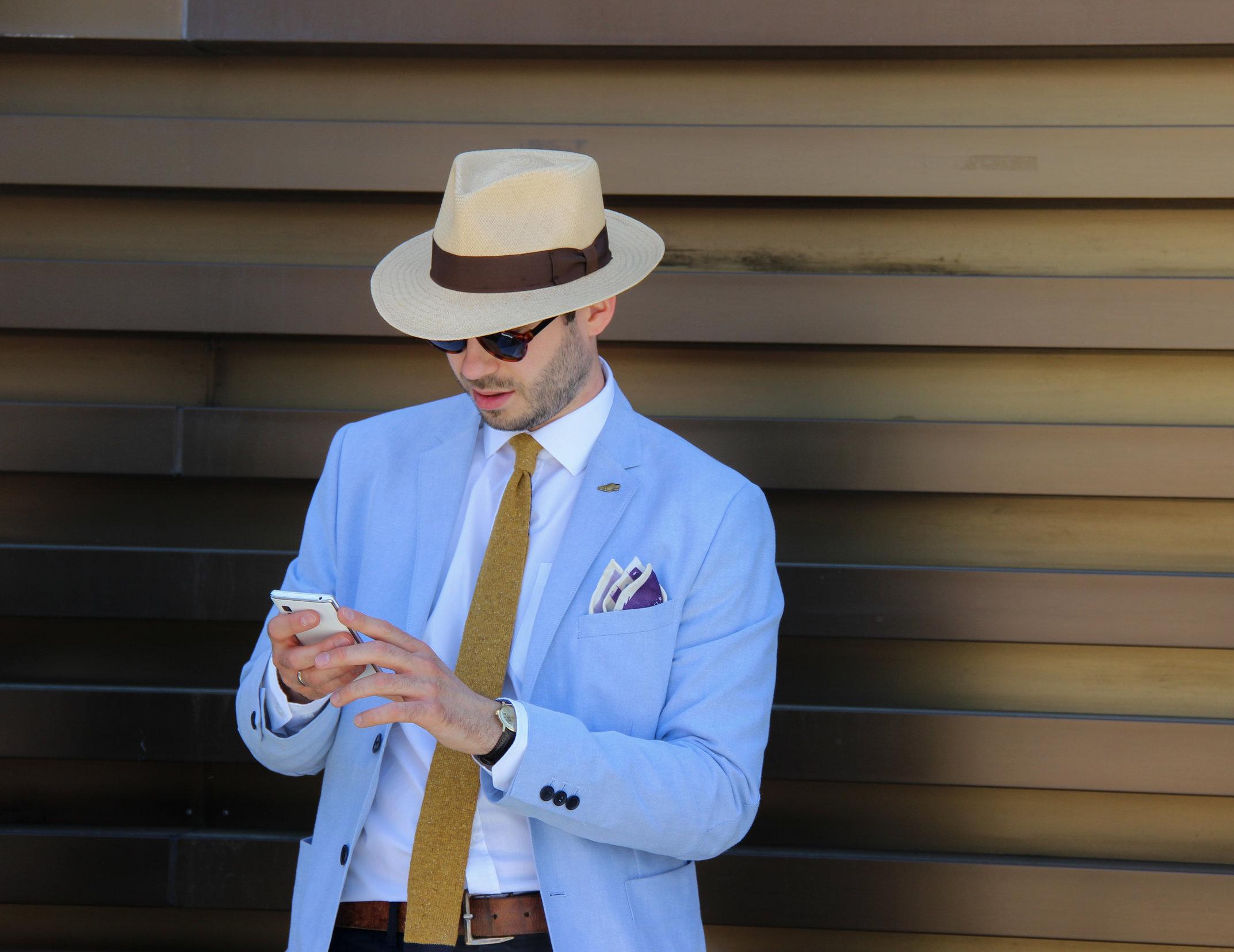 Pitti uomo 90 - Hats by LONG STORY SHORT