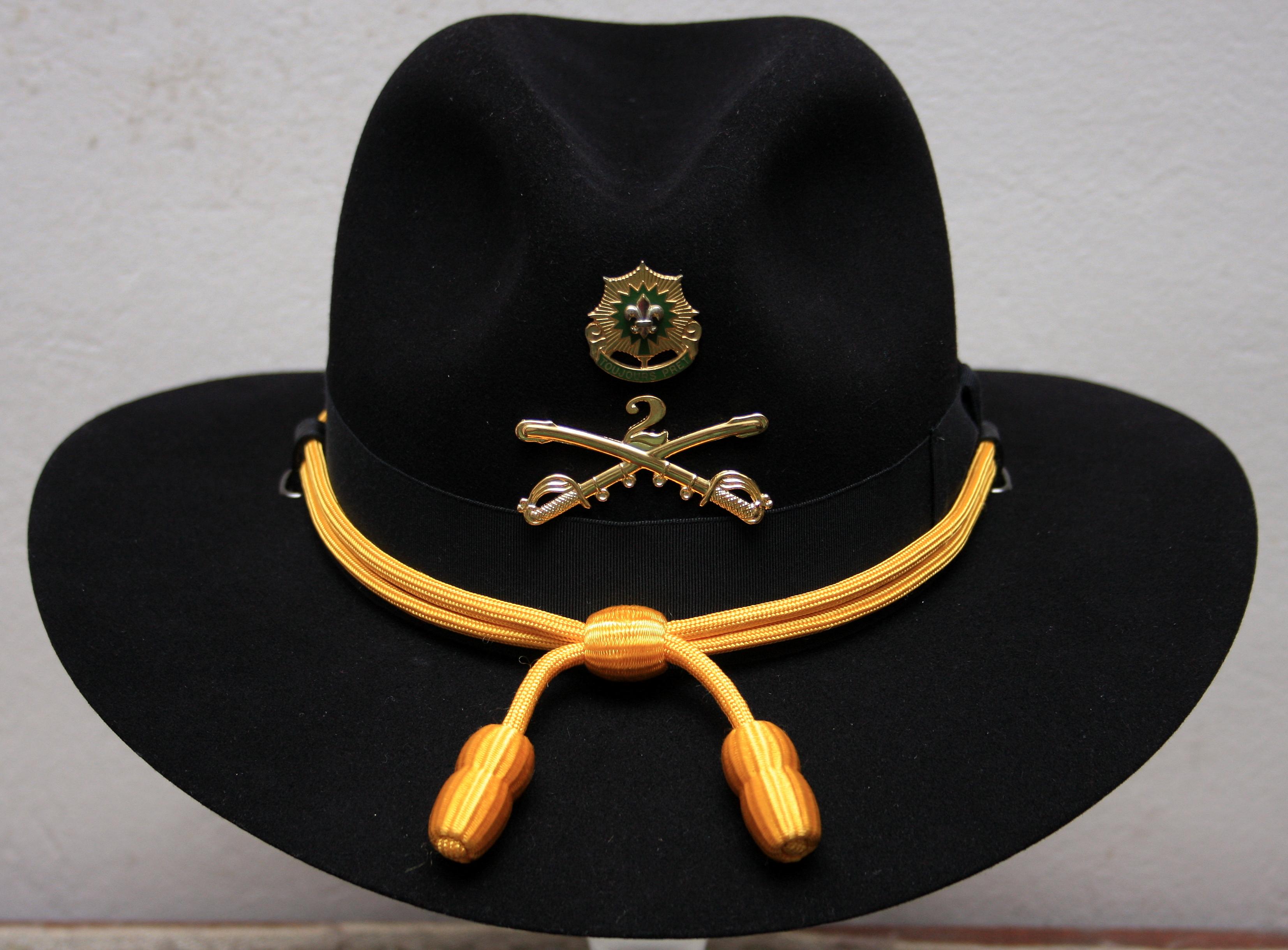 Stetson Cavalry Hat