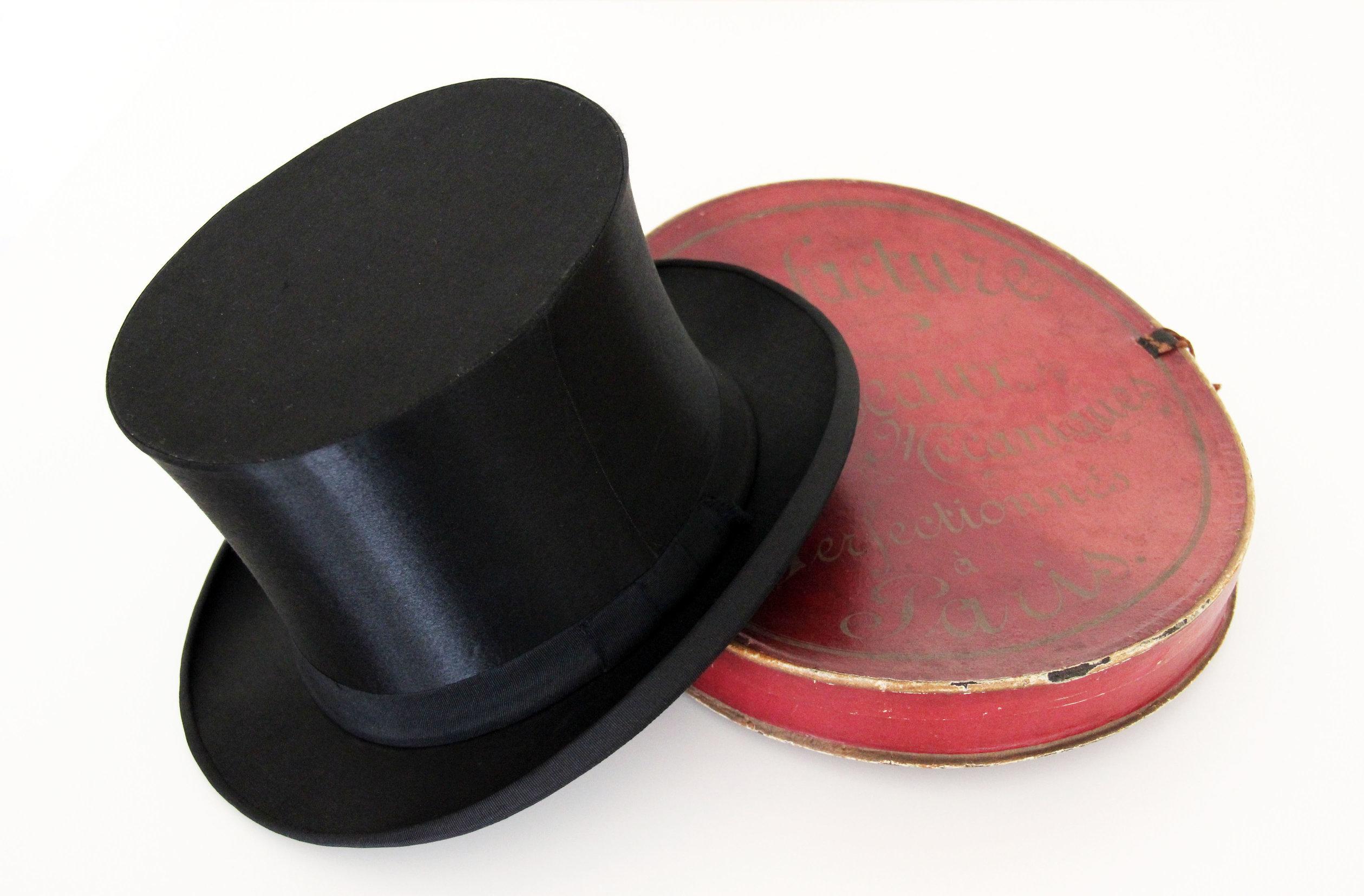 """Kapelusz Cylinder-Szapoklak """"TOP HAT"""" by LONG STORY SHORT"""