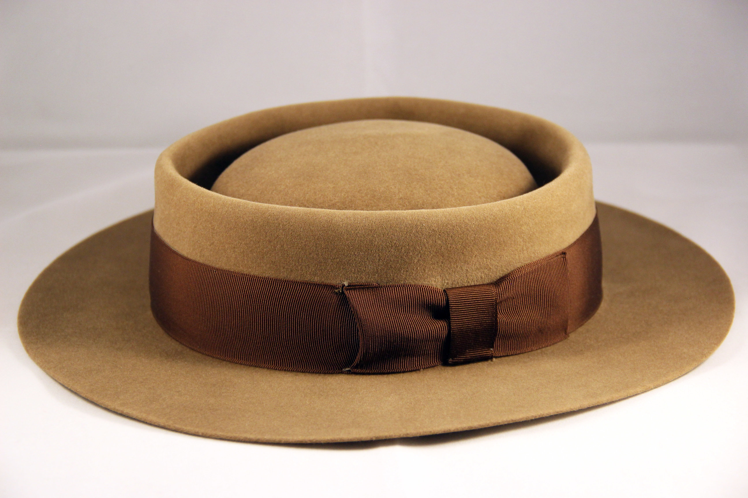 Hat Renovation - Vintage POLKAP Pork Pie by LONG STORY SHORT