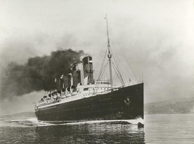 RMS Mauretania - Podróż w wielkim stylu by LONG STORY SHORT