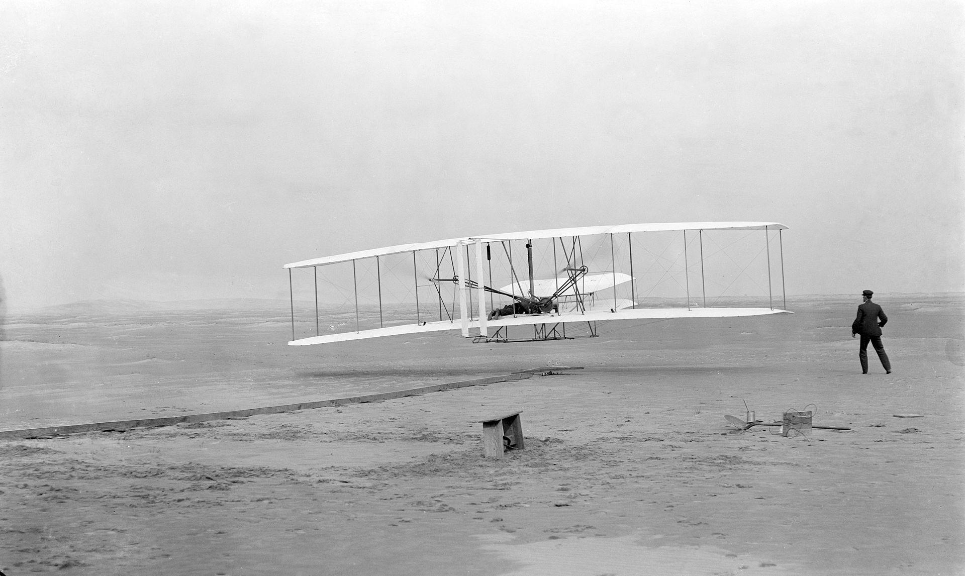 Flyer braci Wright, 17 grudnia 1903 roku