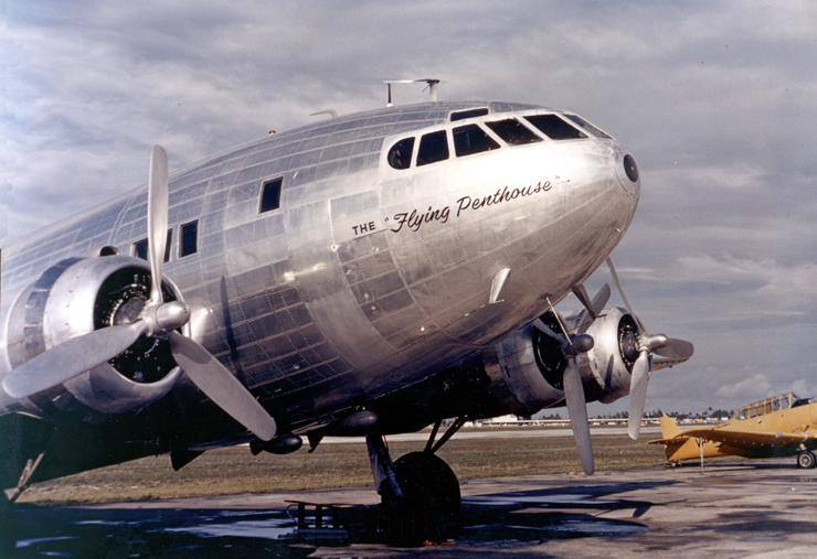 Boeing 307 Stratoliner - podróż w wielkim stylu by LONG STORY SHORT